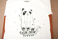 Threadless tee, called Fake pandas have more fun