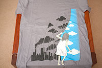 Threadless tee, called Hey there, Mister Blue Sky