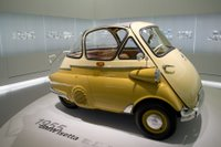 Isetta at the BMW Museum in Munich, Germany