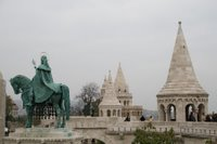 Fisher's Bastion in Budapest, Hungary