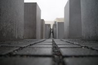 Monument to the Murdered Jews of Europe in Berlin, Germany