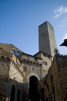 Tower in San Gimignano, Italy
