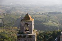 View from the tower in San Gimignano, Italy