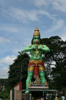 Huge statue by the Batu Caves