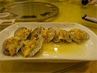 Elephant clam dish, the finished product, in Shantou