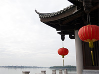 A view on the bridge in Chaozhou