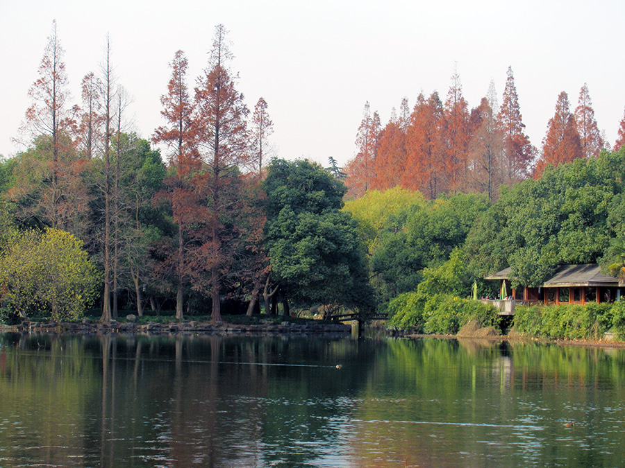 Another scene at West Lake