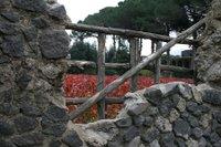 Pompeii fence